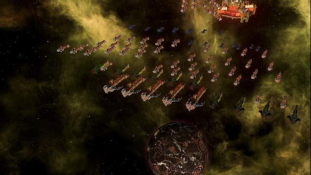 Warhammer 34M Split Imperium mod for Stellaris