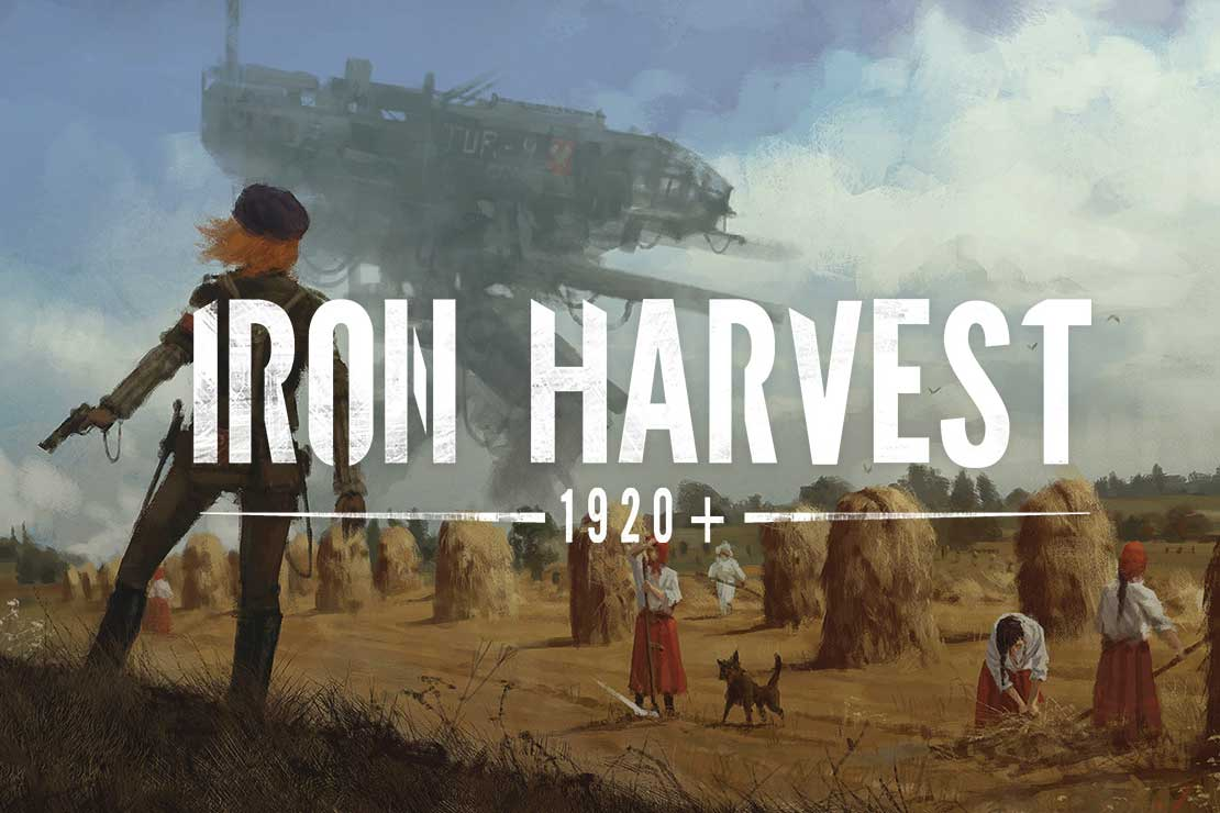 Iron Harvest PC game header